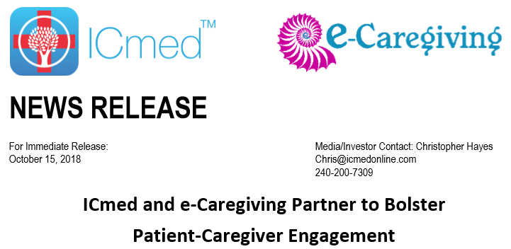 e-Caregiving partners with ICMed